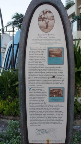 One of the stories, this describes part of the story of Duke Kahanamoku and Waikiki Beach