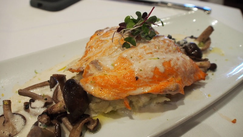 The Trout salmon at Marché Moderne