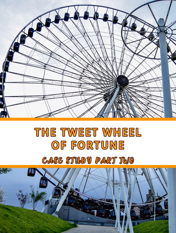 The Tweet Wheel of Fortune – Twitter Growth Case Study Update