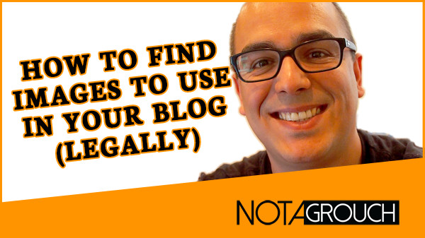 Oscar Gonzalez on using images for your blog legally