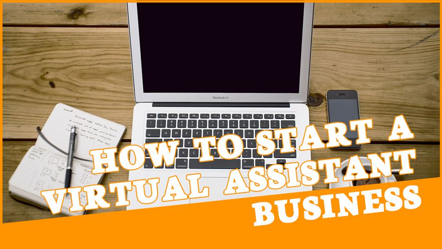 "Cover image for ""how to start virtual assistant business online"" blog post"