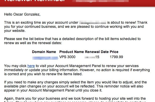 webhosting-bill